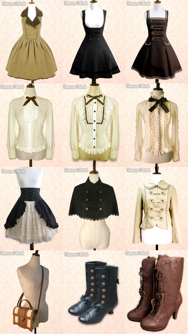 Innocent World has an amazing amount of Steampunkable pieces!  I want literally all of these.