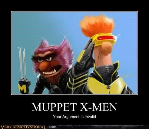 :)  Muppet meme, X-Men meme