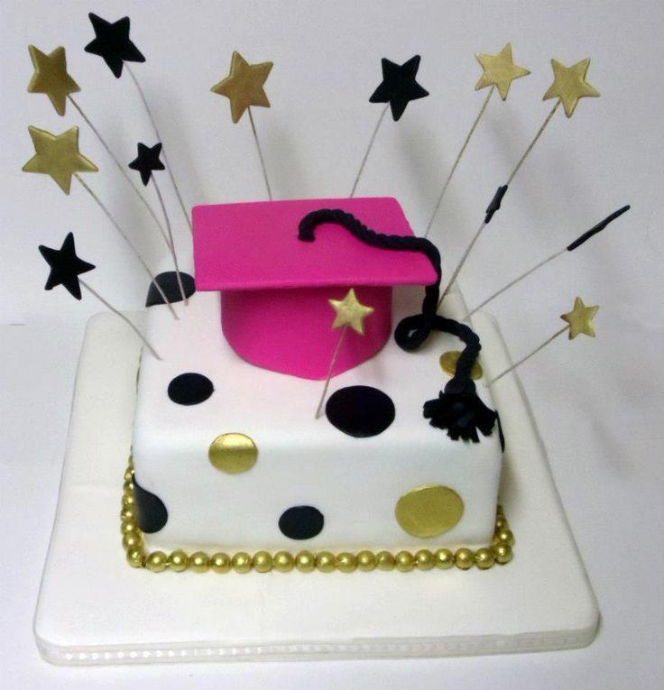 Las 25 mejores ideas sobre tortas de promocion en for Decoracion de grado
