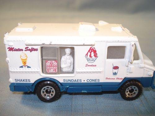 Matchbox Snack Truck 1998 Mister Softee