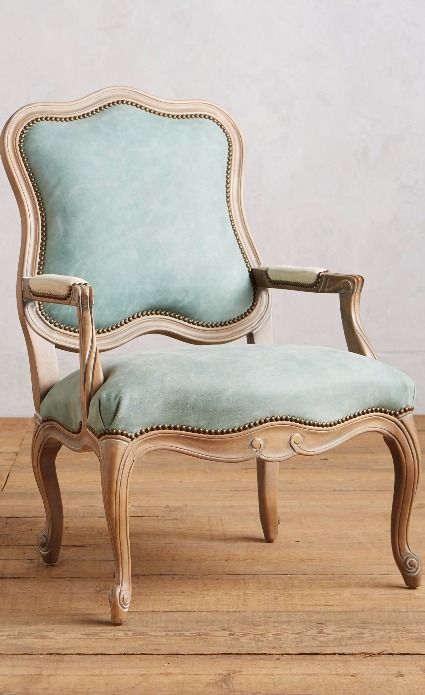 Leather Tirelle Occasional Chair