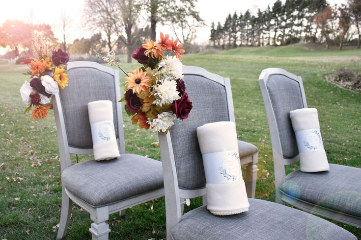 Our Polar Fleece Blankets Are Extremely Soft And A Perfect Wedding Favor For Guests At An Out Wedding Favors For Guests Wedding Reception Guest Ceremony Chairs
