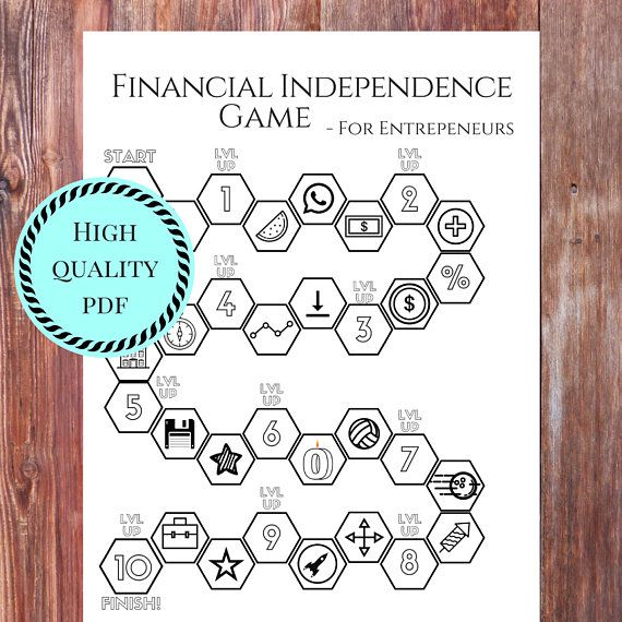 Financial Independence Game Checklist for Entrepreneurs and sidehustlers!
