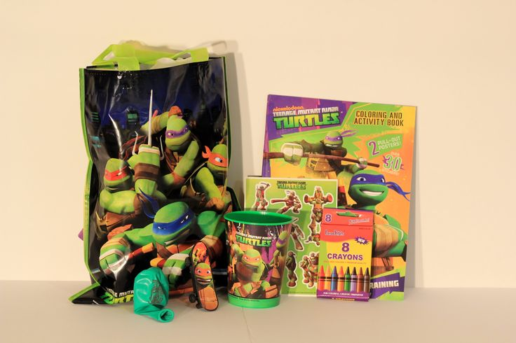 TMNT Theme Loot Bag! Put a little cowabunga into your party