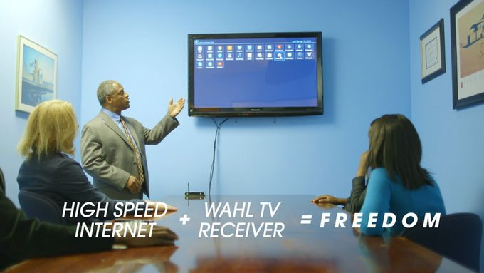 Now you can take the full power of your full entertainment system with you within a moments notice anywhere in the world. To know more about WahlTV visit http://kck.st/1Leh09W