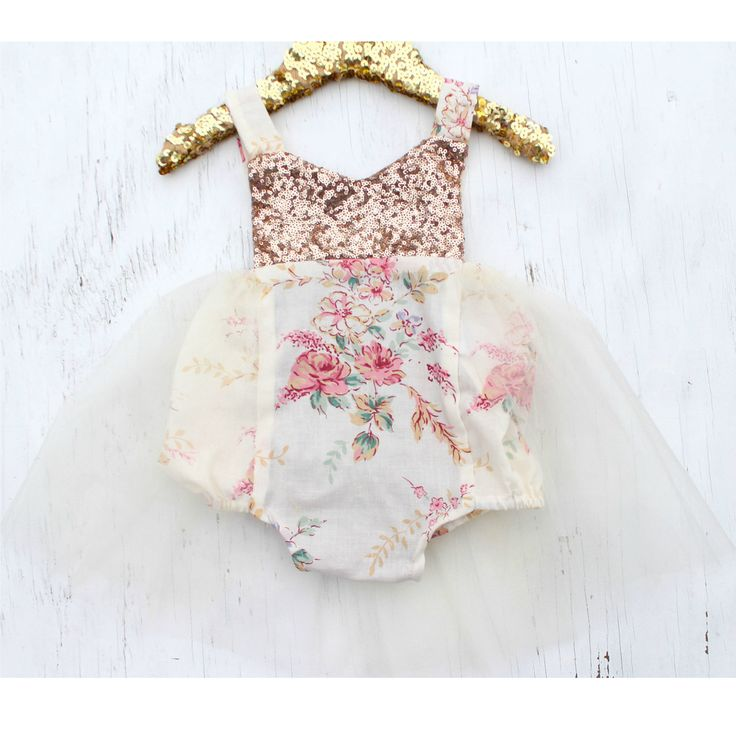 Boho Glam Sparkle Tutu Romper READY TO SHIP