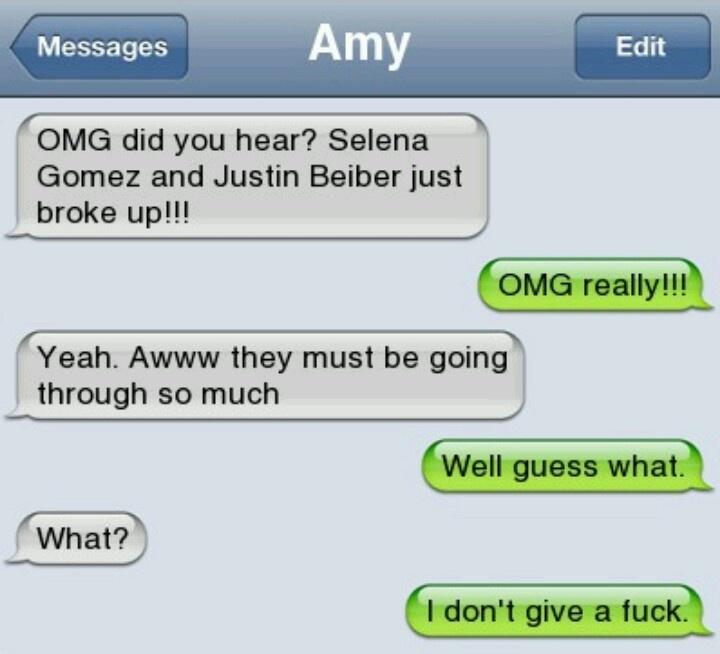 Stupid texts