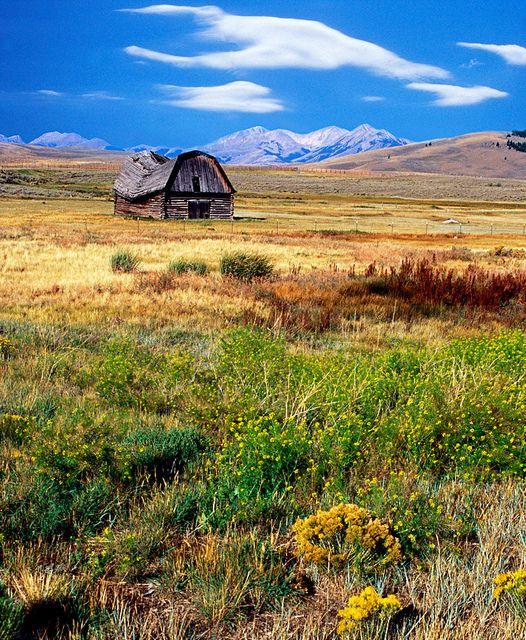 High Plains Survivor, Monida, Idaho.  Photo: Silos & Smokestacks National Heritage Area, via Flickr