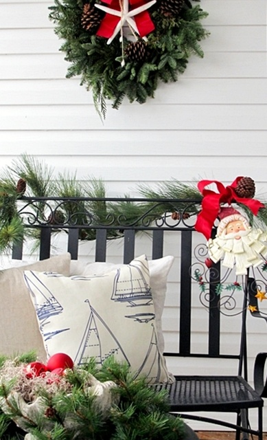 178 best Christmas by the Sea images on Pinterest  Nautical