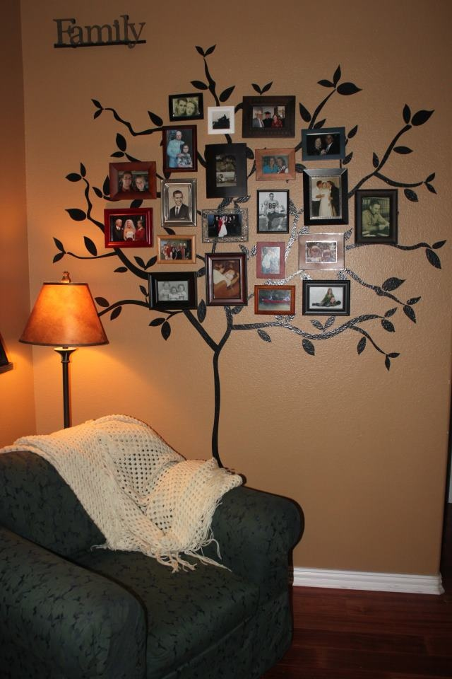 17 best images about family tree displays on pinterest - Arbre genealogique stickers ...