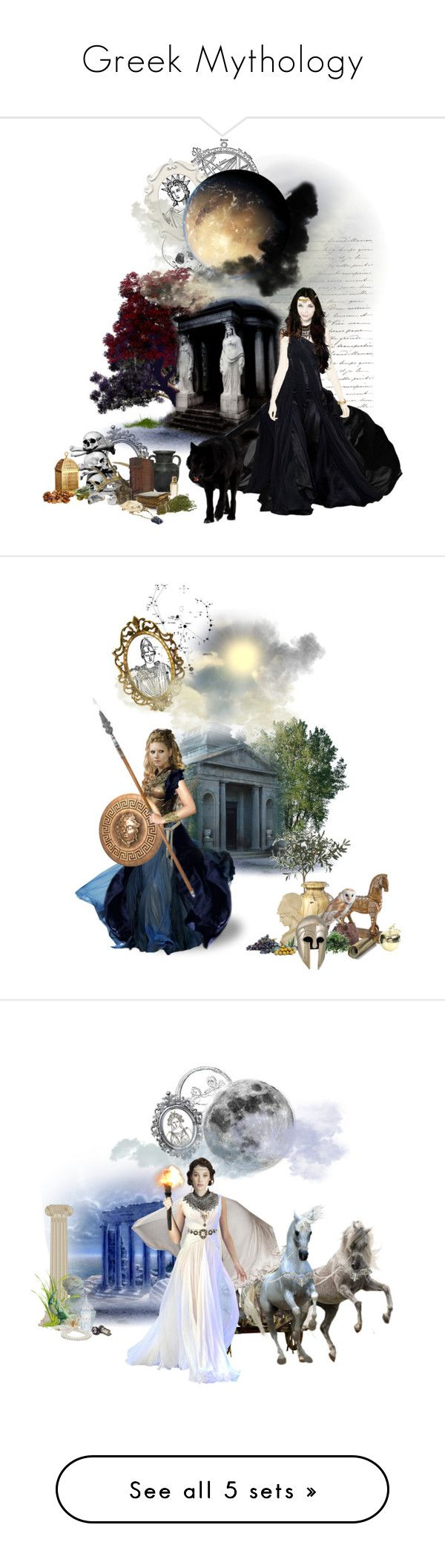 What are the similarities between norse and greek mythology?