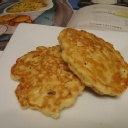 Creamed corn fritters.