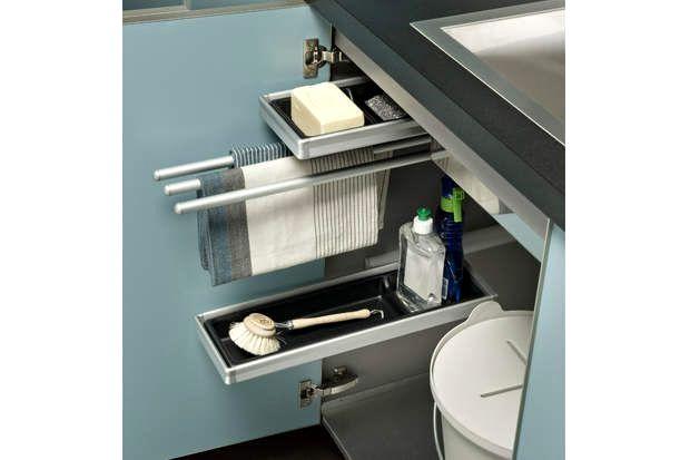 Meuble Sous Evier Cuisine Ikea Trick Sink Organizer Under Sink