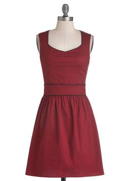 You Win, You Rouge Dress, #ModCloth