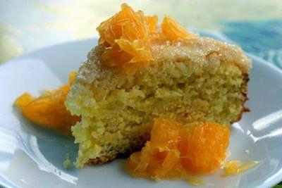 Orange Cornmeal Coffee Cake -- I'm allergic to corn, but I remember ...