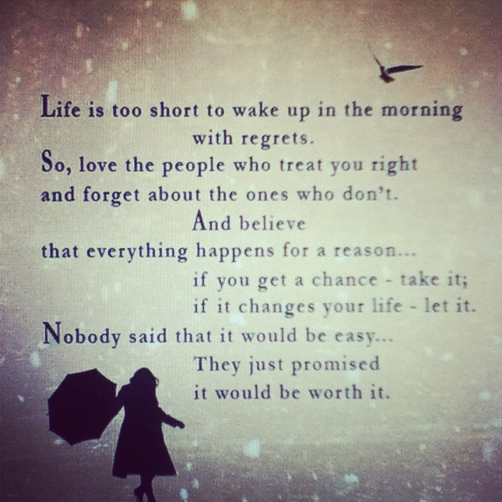 #life is too #short #quote