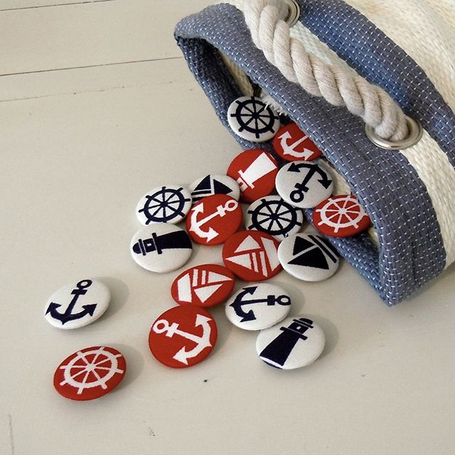 Fancy - Nautical Fabric Badges