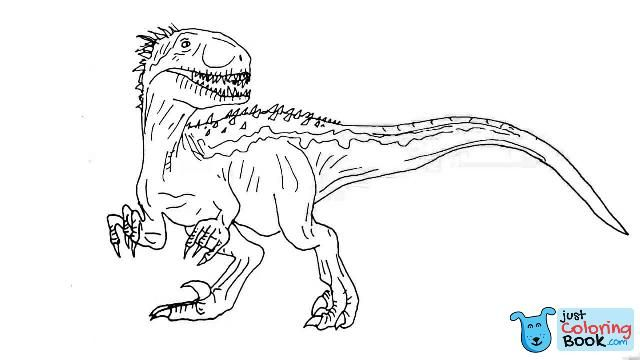 Indoraptor Coloring Pages Coloring Pages Intended For Indoraptor Coloring Pages Dinosaur Coloring Pages Coloring Pages Animal Coloring Pages