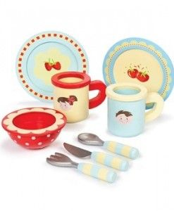 Dinner Set $32.95 #sweetcreations #kids #babies #toys #play #roleplay