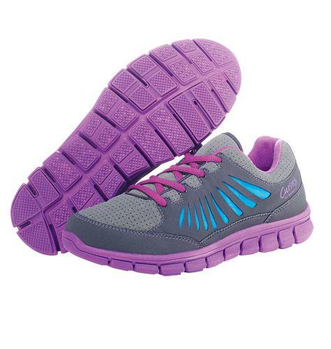 Reg. $39.99 Sale $26.99 Curves for Women Active Sneaker in Purple http://jamesgilbert.avonrepresentative.com/