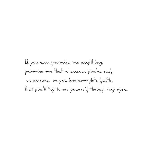p.s. i love you quote found on Polyvore
