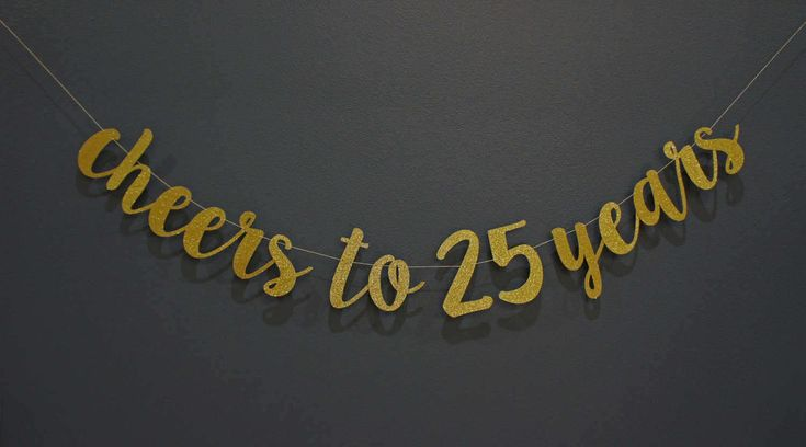 CHEERS TO YEARS Gold Glitter Birthday Banner Sign | Custom, Personalized | 25th 30th 35th 40th 45th 50th 55th 65th, Premium Double-Backing by thePartyPropShopSD on Etsy https://www.etsy.com/listing/502047952/cheers-to-years-gold-glitter-birthday