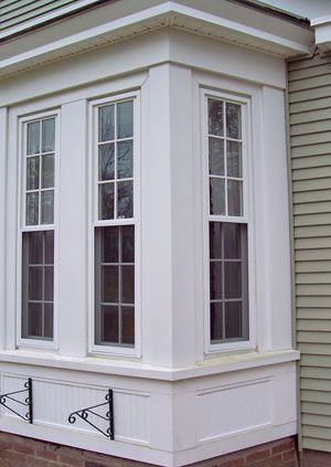 59 best windows images on pinterest windows cottage and - Exterior window trim vinyl siding ...