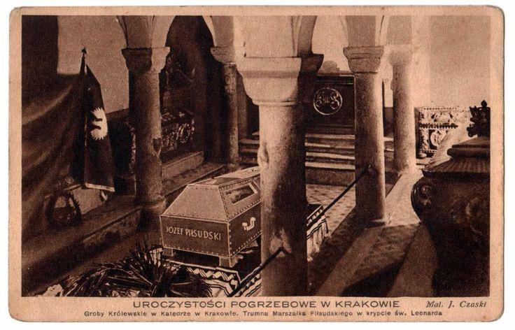 Pogrzeb Piłsudskiego Komitet Budowy Kopca 1935
