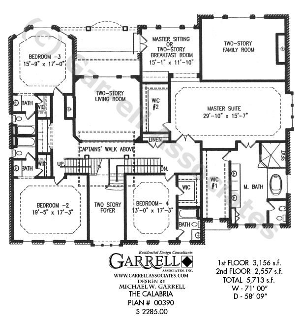 awesome 2 story house plans master down #1: 82 best plans images on Pinterest | House floor plans, Floor plans and  Architecture