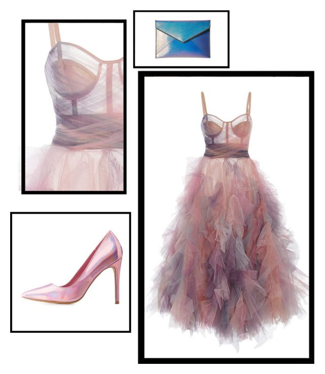 """Untitled #36"" by kleefashion on Polyvore featuring Marchesa, Charlotte Russe and Rebecca Minkoff"