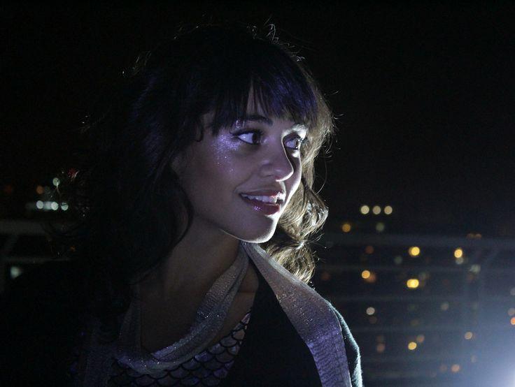 Sesión Nocturna  Maquillaje. yo !  Fotógrafa. Marcia Cifuentes  Modelo. Priscilla (Pitu)