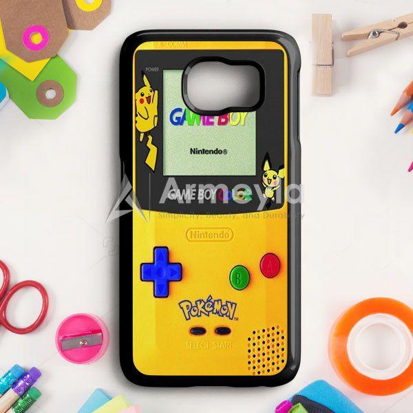 Yellow Gameboy Pokemon Samsung Galaxy S6 Edge Case | armeyla.com
