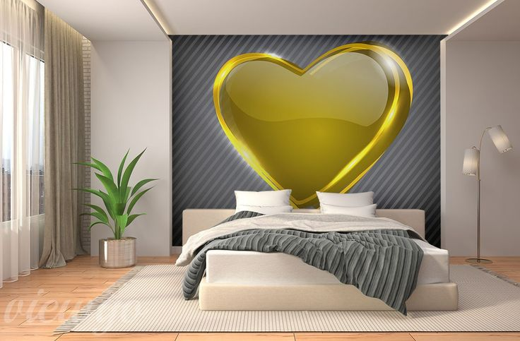 Serce-w-natarciu-do-sypialni-fototapety