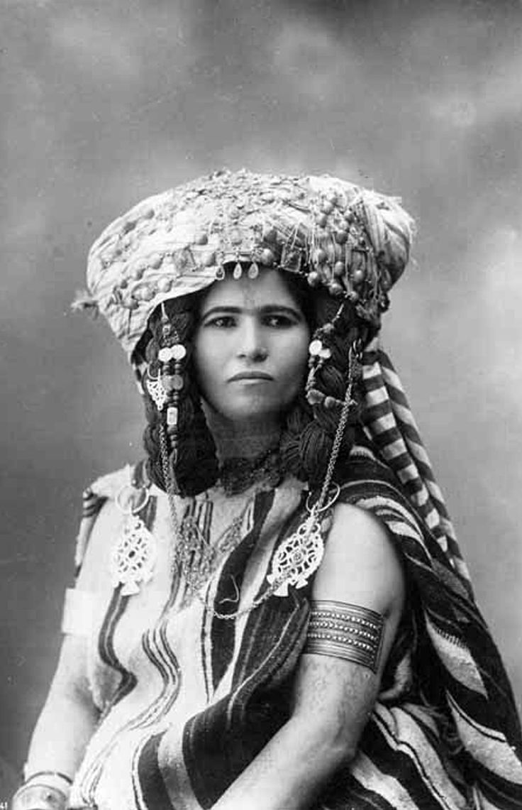 Nailiya-des-ouled-nail.    Algeria   Vintage postcard