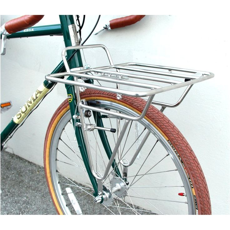 Amazon.com : Soma Fabrications Porteur Front Rack Ss-Silver : Sports &  Outdoors