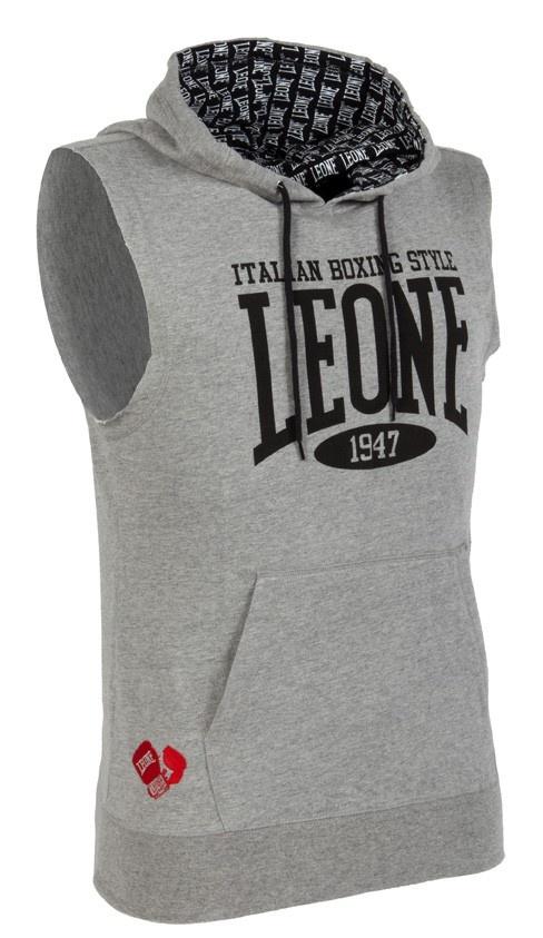 Leone 1947 ® Italy Store LEO-026 - Felpa smanicata con cappuccio - Felpe - Abbigliamento Official Website