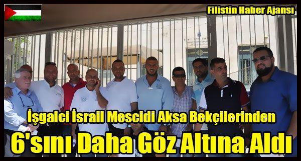 Siyonist İşgal güçleri dünden bu yana Mescid-i Aksa'da çalışan görevlileri hedef almayı sürdürerek, görevlilerden toplam 10 kişiyi gözaltına aldı ve 4'ünü serbest bıraktı.   #6 muhafız bekçi göz altı #israil 6 filistinli göz altı #israil göz altı #mescidi aksa #mescidi aksa göz altı