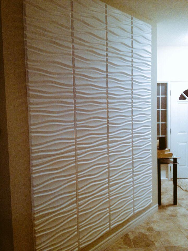 Flows 3D wall panels by WallArt #texturedwalls #interiorwallpanels #decorativewallpanels #walltiles #embossedwalldecor #wallpanels #walltiles