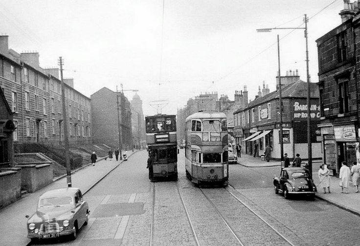 Glasgow tramcars 1961