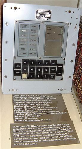 The so-called Apollo Guidance Computer (AGC) used a real time operating system [...] was more basic than the electronics in modern toasters that have computer controlled stop/start/defrost buttons. It had approximately 64Kbyte of memory and operated at 0.043MHz.
