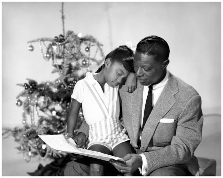 26 best famous readers images on pinterest reading books famous nat king cole with daughter natalie cole fandeluxe Images
