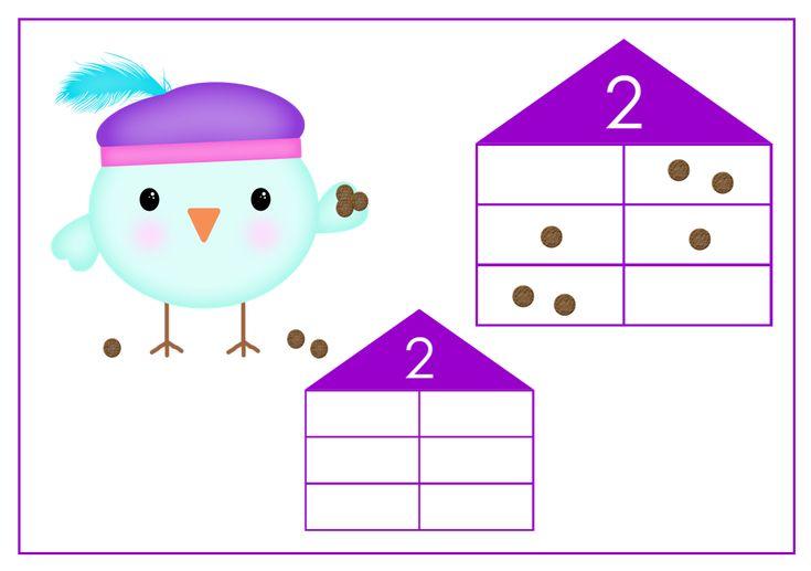 Help splitspiet mee om pepernoten te verdelen over verschillende huisjes. Leuk voor groep 3.
