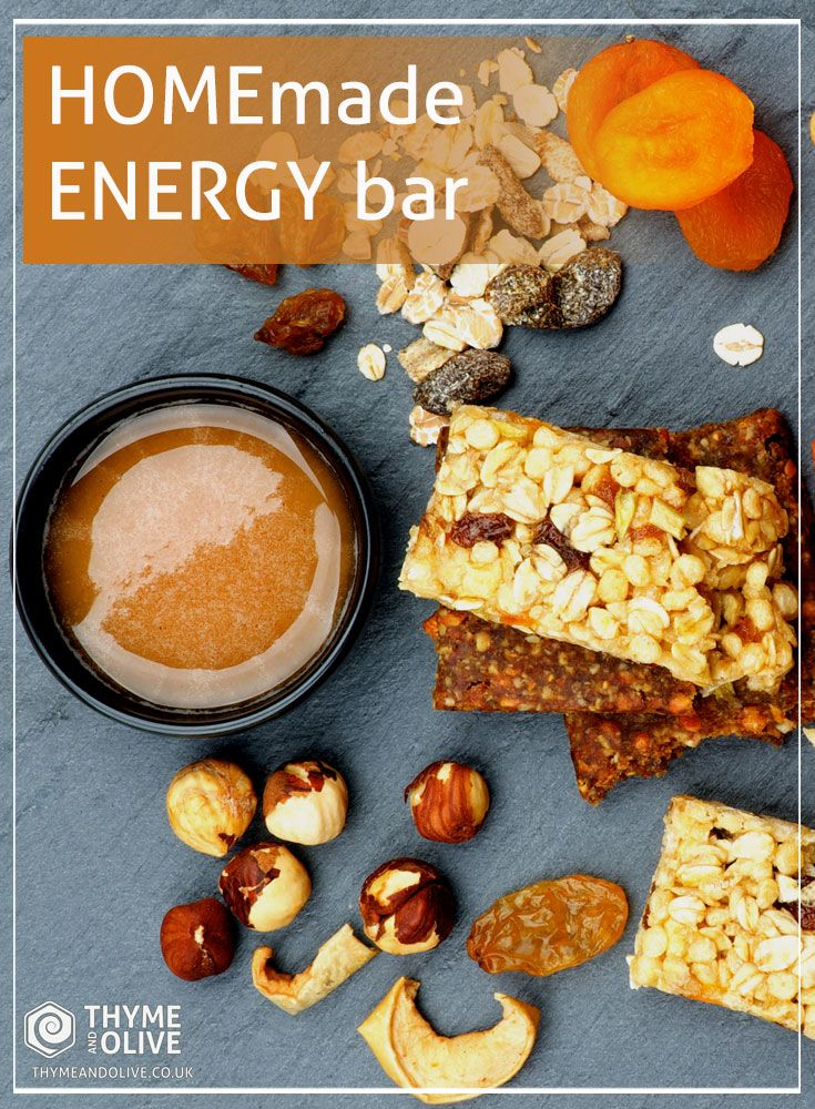 Energy Bar #Recipe - Forget everything you knew about energy bars so far!  If you used to think that energy bars are nothing but snacks full of calories, this recipe will make you reconsider! Continue reading to find out how we mixed different kinds of #superfoods like raw honey, tahini, nuts and cereal to make a pure, healthy snack that will give you all the energy you need for the day! Read more ► www.thymeandolive.co.uk/energy-bar-recipe/