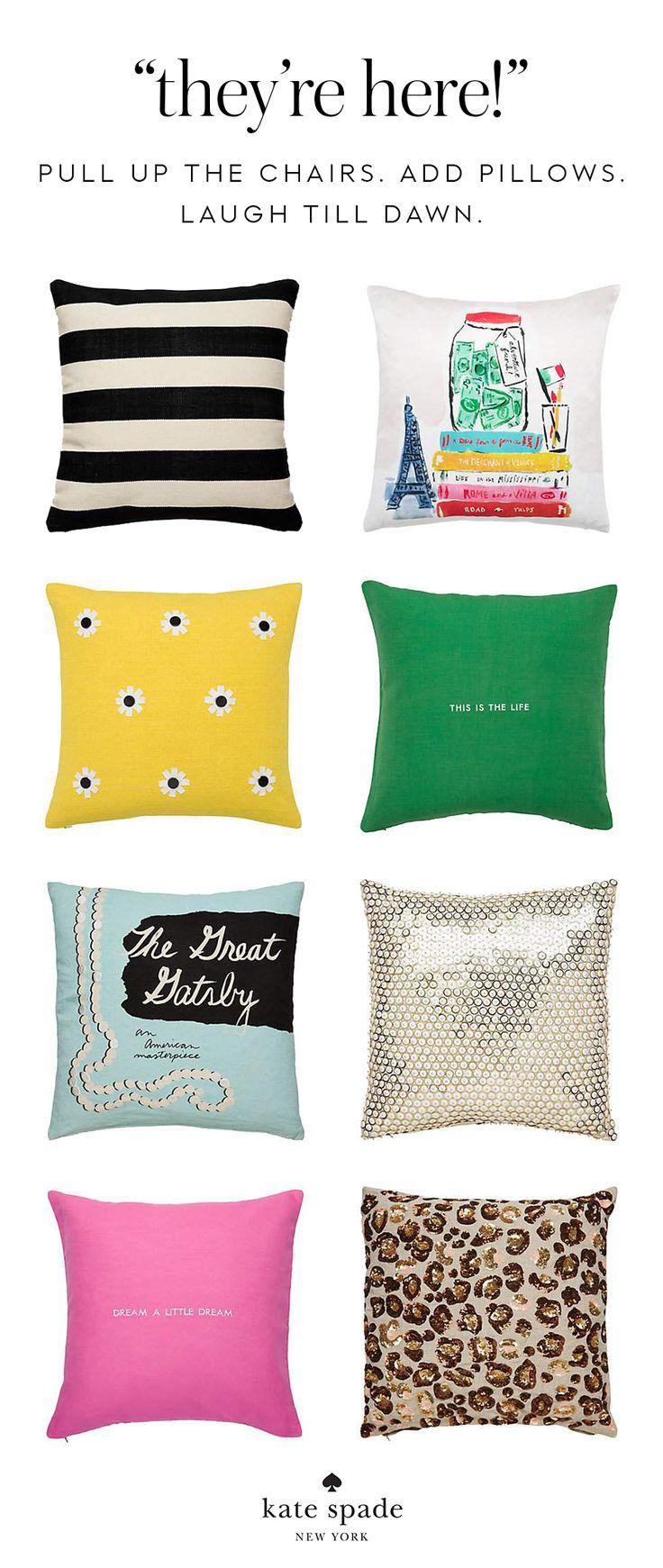 mystery playground kate book pillows pillow spade