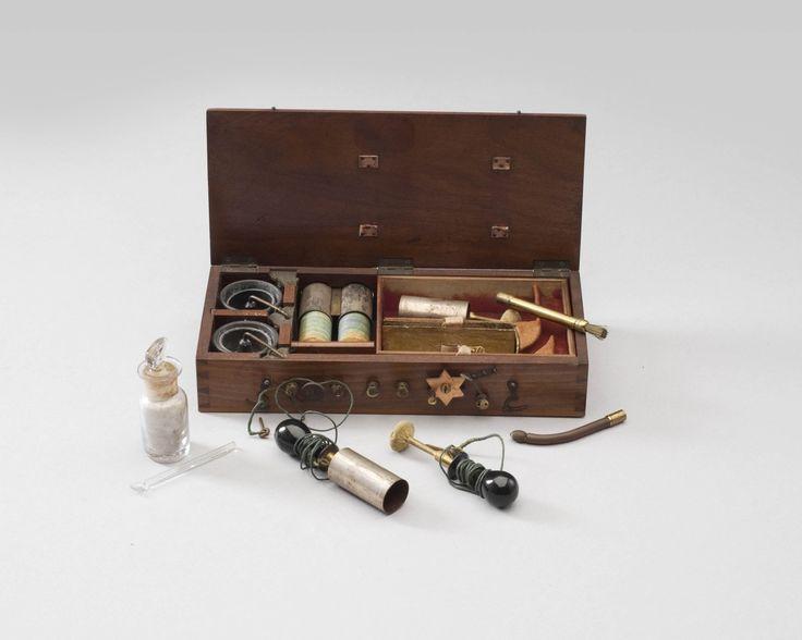 Inductietoestel voor elektrotherapie — Teylers Museum
