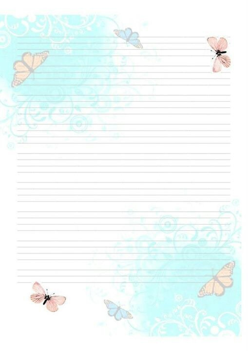 Doc650850 Lined Stationary Paper Free Printable Stationery – Lined Stationary Paper