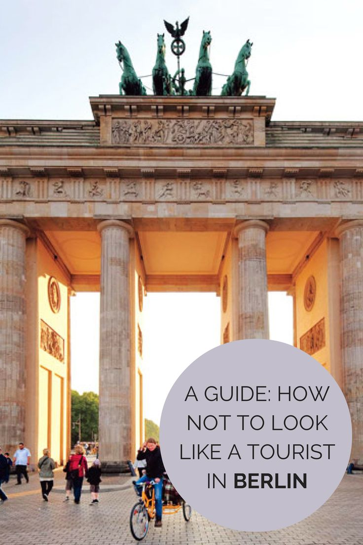 How Not to Look Like a Tourist In Berlin