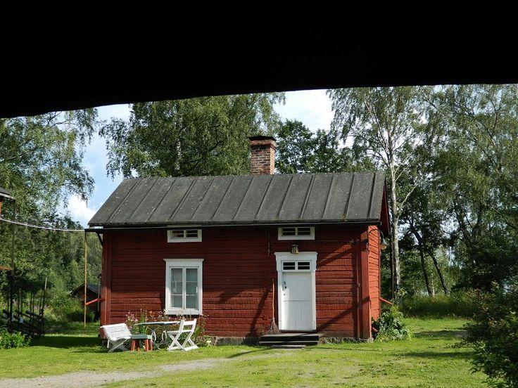 Cottage. Brage open-air museum, Vaasa Finland.
