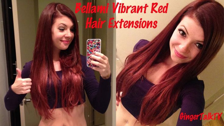 Bellami Vibrant Red Hair Extensions Review