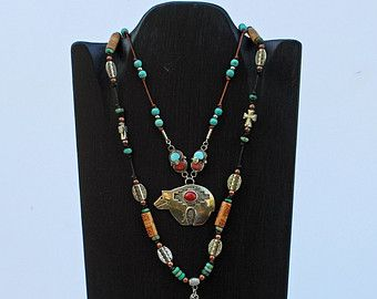 Multiple Necklace Display 18 x 10.5 high 4 by JimHarmonDesigns